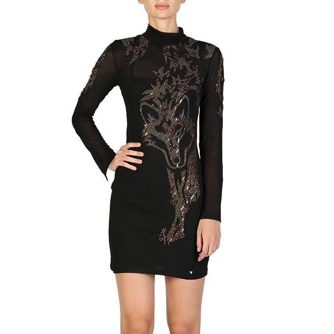GUESS Vestido W74K36WAGK0 Mujer Color: Negro Talla: XS