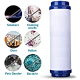 YOEDAF Granular Activated Carbon Water Filter Cartridge for Reverse Osmosis Whole House Drinking Water Filter System Safety Pure Water Activated Carbon Clean