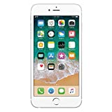 Apple iPhone 6s Plata 16 GB (Renewed)