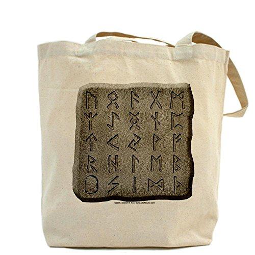 CafePress–Viking Rune pietre–Borsa di tela naturale, panno borsa per la spesa