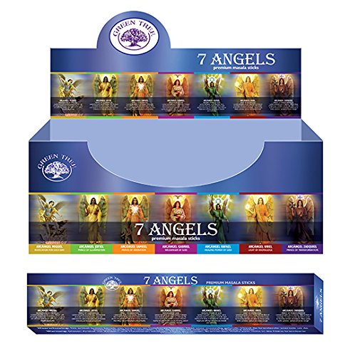 GREEN TREE CANDLE 8902276107532 Angel Love G