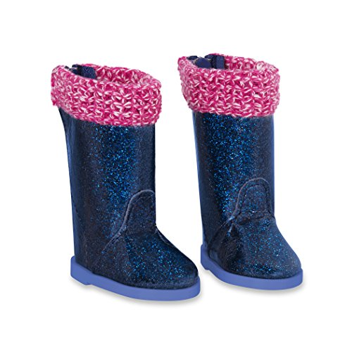 Battat Glitter Girls by Rainy Day Shine Shoes Accessory Set – 14-inch Doll Clothes and Accessories for Girls Age 3 and Up – Children's Toys -