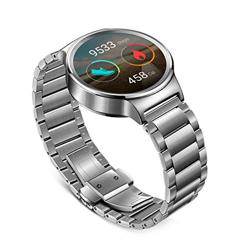 Huawei Watch Stainless Steel with Stainless Steel Link Band (U.S. Warranty) by Huawei (Image #3)