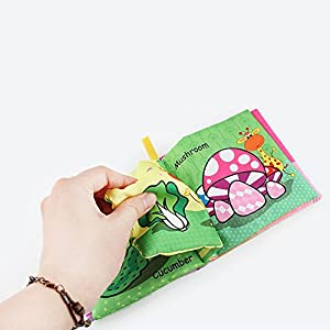 JYC Store 2019 Novelty New Soft Cloth Baby Intelligence Development Learn Picture Cognize Book