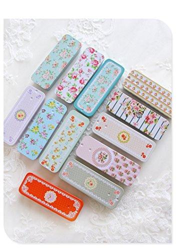 BranXin - 12 Pieces/lot Mini Tea Food Storage Box Small Meta