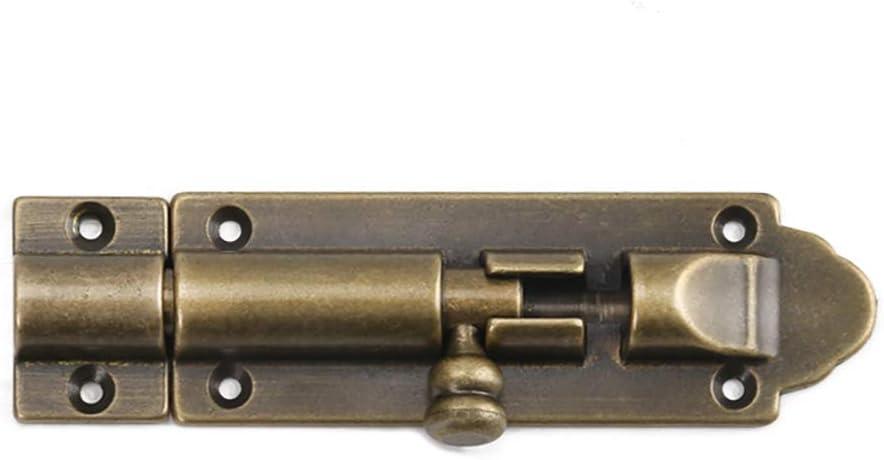 Tiazza - Pestillo para puertas y ventanas de madera (latón puro)