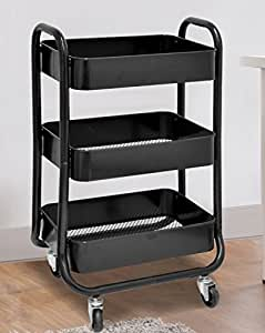 Urban Shop Metal Rolling Cart