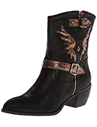 Roper Women's Metallic Wings Western Boot