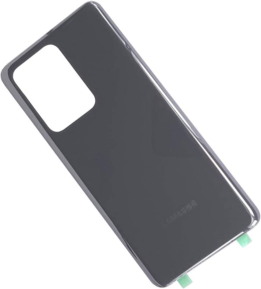 Galaxy S20 Ultra Back Cover Glass Biu-Boom Housing Rear Glass Back Door Replacement for Samsung Galaxy S20 Ultra 5G Cosmic Gray