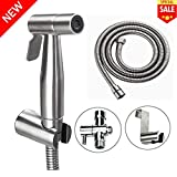 Best Hand Held Bidets - Premium Stainless Steel Bathroom Handheld Bidet Toilet Sprayer Review