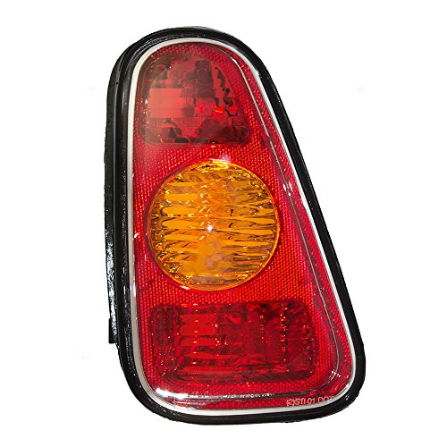 Drivers Taillight Tail Lamp Lens Replacement for MINI 63216935783