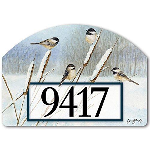 YardDeSign Cattail Chickadees Yard DeSign Yard Sign 71454 ()