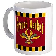 CafePress - French Market Sign Mug - Unique Coffee Mug, Coffee Cup