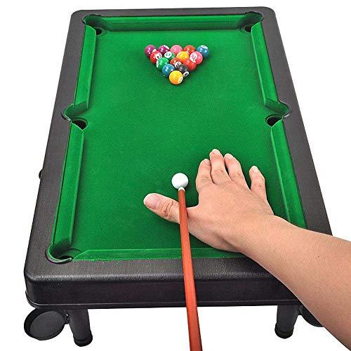 dswl Tablas De Madera Mini Piscina Table Top Billar Snooker Juego ...