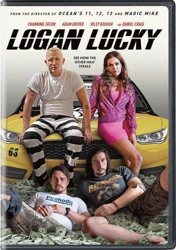Logan Lucky (Tatum Channing Movies Dvd)