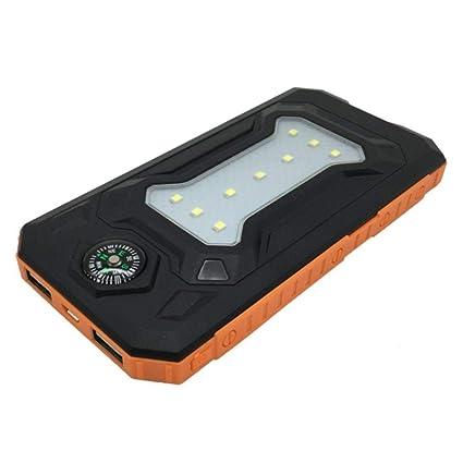Amazon.com: Sin batería DIY impermeable Power Bank 2 USB ...