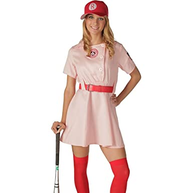 Womens Rockford Peaches Adult Costume,Deluxe ...