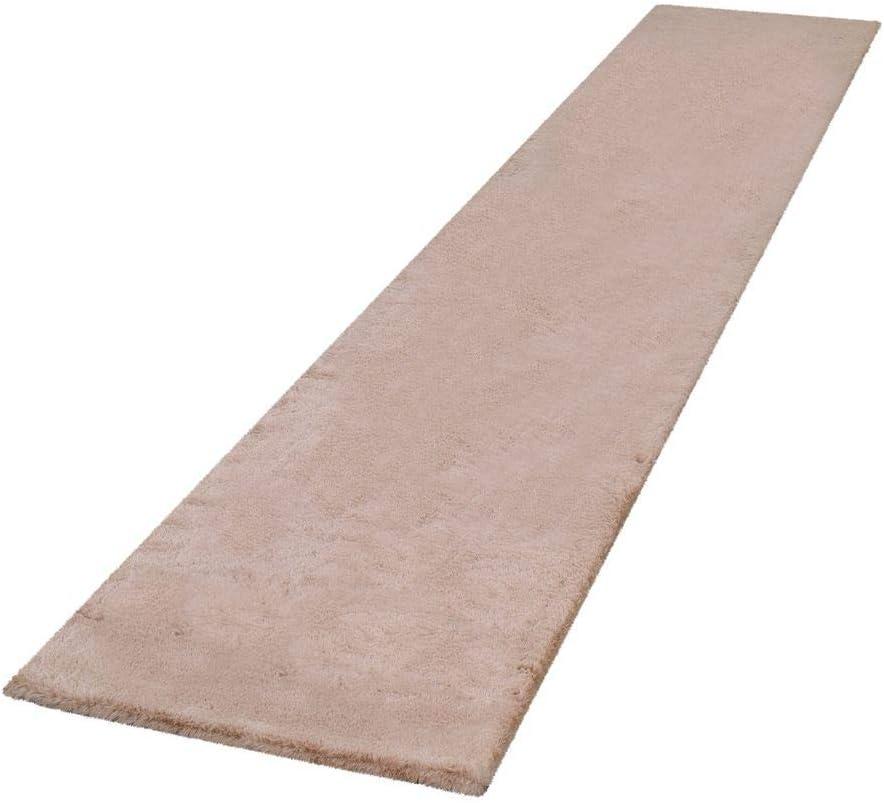 Couleur:Rose Tapis Shaggy pour Salon Dimension:60x90 cm Tapis /À Poils Longs Coloris Et Tailles Doux Uni en Diff