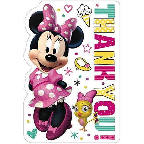Thank You Postcards| Birthday |  Disney Minnie Mouse Collection -