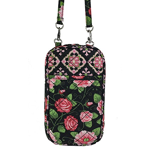 Quilt Charm14 Cell Bella Purse Phone phones all Crossbody Fits w66vxqrAI
