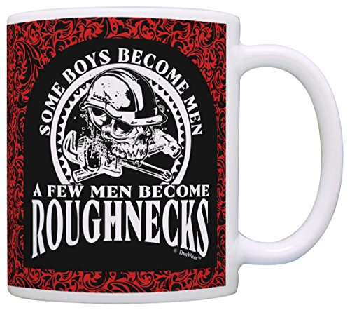 Fathers Become Roughnecks Coffee Paisley