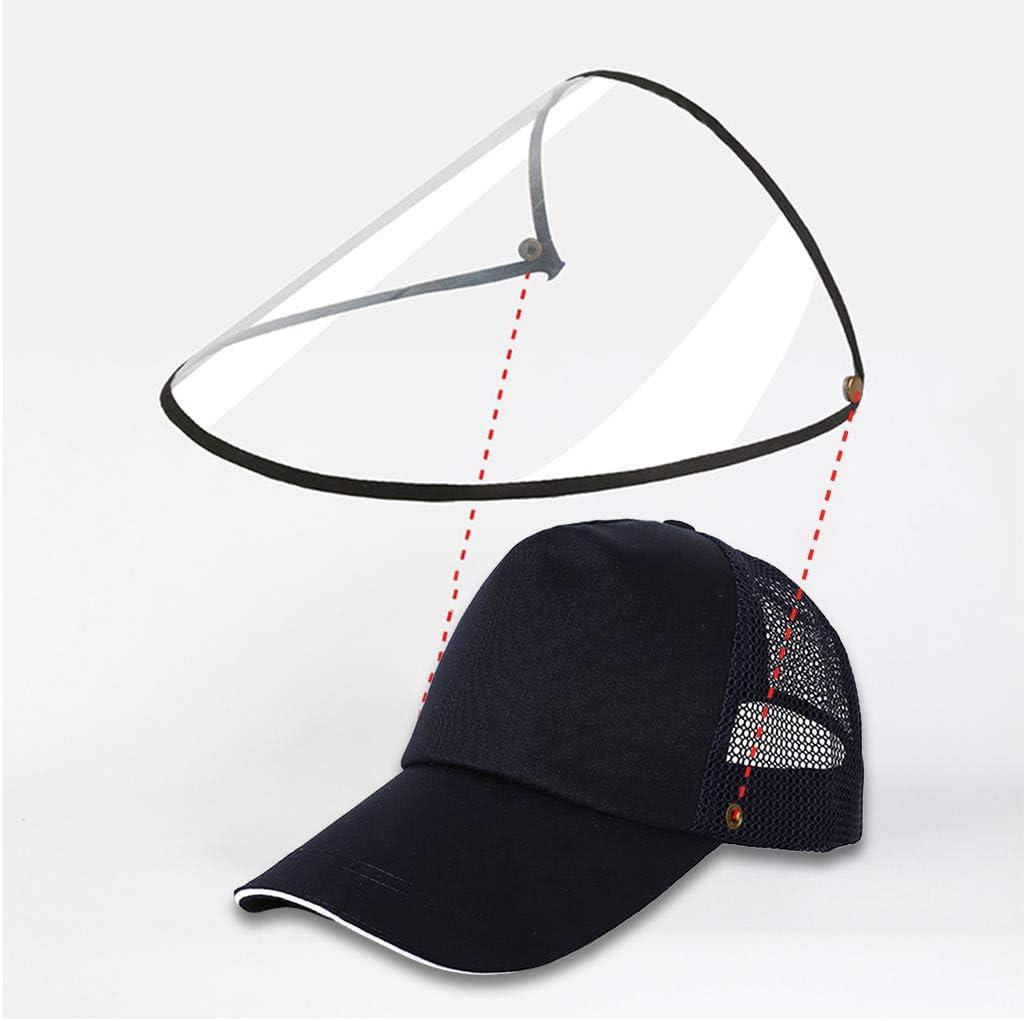 Schwarz-A und Spritzschutz Adult Unisex Hut Fanxing Baseball Cap-F/ür Staub