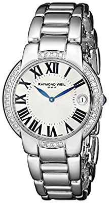 Raymond Weil Women's 5235-STS-00659 Jasmine Analog Display Swiss Quartz Silver Watch