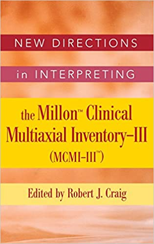 com new directions in interpreting the millon clinical  new directions in interpreting the millon clinical multiaxial inventory iii mcmi iii essays on current issues 1st edition