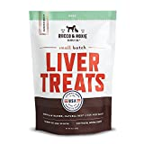 Rocco & Roxie All Natural Liver Dog Treats - Made in USA Only - Slow-Smoked Beef - Gluten-Free, Grain-Free - No Fillers - Healthy and Delicious Treats Your Dogs Will Love - 16 oz. Bag (1lb Liver)