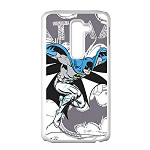 Batman Sketch LG G2 Cell Phone Case White phone component AU_434665