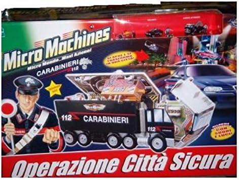 HASBRO MicroMachines Carabinieri 5 veicoli auto e moto