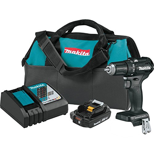 - Makita XFD11R1B 18V LXT Lithium-Ion Sub-Compact Brushless Cordless 1/2