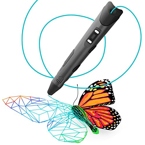 Visualiz3d 3D Pen for Kids and Adults - Create Awesome Designs, Models, 3D Drawings, Arts, and Crafts with a 3D Pen for Kids - 3D Printer Pen for Printing 3D Drawings
