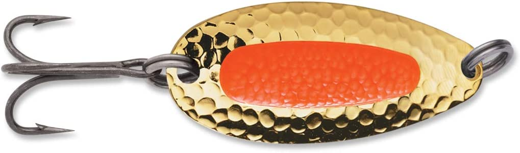 One Size 7//8-Ounce Gold//Fluorescent Orange 01-40-032IC Multi Blue Fox Pixiee Spoon