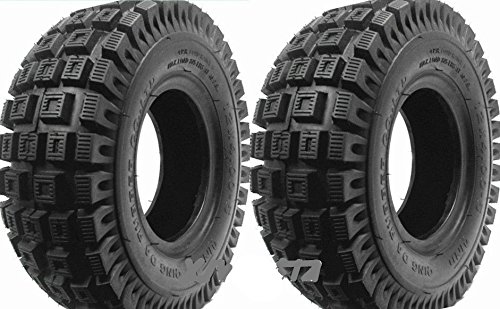 Motor Buddies 2 pcs 12 x 4.00 - 5 Knobby neumático con Tubo ...