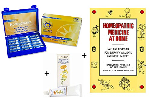 (Homeopathic Remedy Kit and Book Starter Pack)