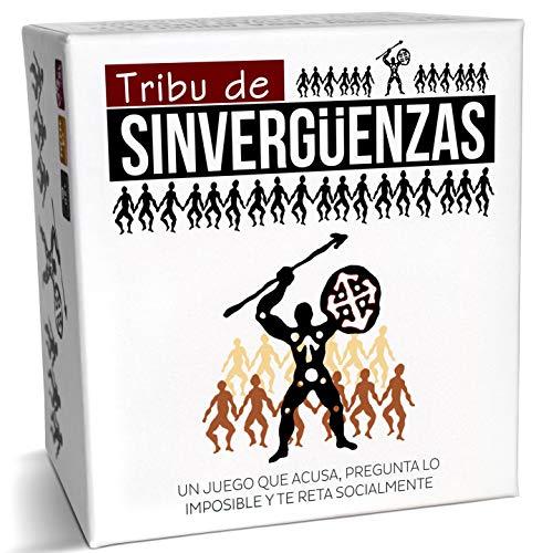 Tribu de Sinverguenzas - El Mejor Juego de Cartas para Beber para Fiestas y Risas con amig s - Made In Spain