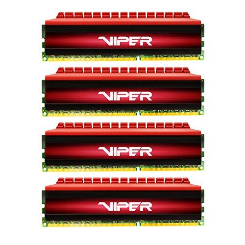 Patriot VIPER 4 Series 3000MHz (PC4 24000) 16GB Quad Channel DDR4 Kit - PV416G300C6QK