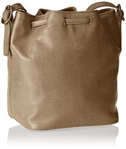 Timberland Tb0m5391, Bolso Saco para Mujer, 14x22x20 cm (W x H x L) Beige (Croissant)