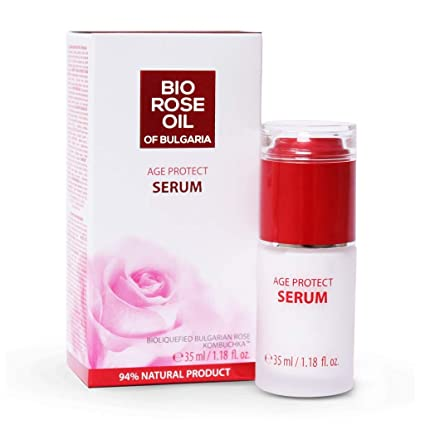 Rose Oil of Bulgaria bio Age Protect Serum 35 ML: Amazon.es: Belleza