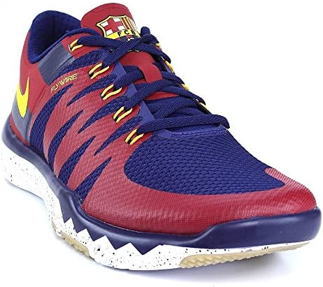 Nike Free FC Barcelona rot blau Trainer 5.0 V6, Farbe:rot;Größe:44: Amazon.es: Zapatos y complementos