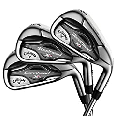 The newest addition to the XR family, Steelhead XR irons, combine our next-generation 360 Face Cup technology with beautiful shaping and playability that made the Steelhead X-14 one of the most popular irons of all time.