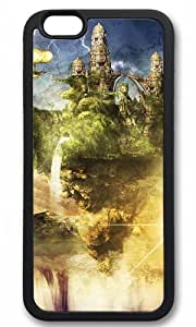 Fantasy Mountain And Waterfall Easter Thanksgiving Masterpiece Limited Design tpu black Case for iphone 6 by Cases & Mousepads