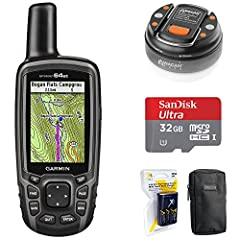 """Rugged, Full-featured Handheld with GPS, GLONASS and Wireless Connectivity 2.6"""" sunlight-readable color screen High-sensitivity GPS and GLONASS receiver with quad helix antenna Preloaded TOPO U.S. 100K maps plus a 1-year BirdsEye Satellite Im..."""