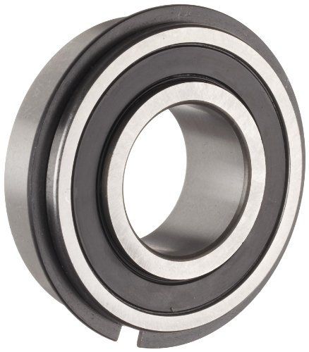 The General 7516 DLG Extra Light Extended Inner Ring Bearing, Double Sealed, With Snap Ring, Inch, 1