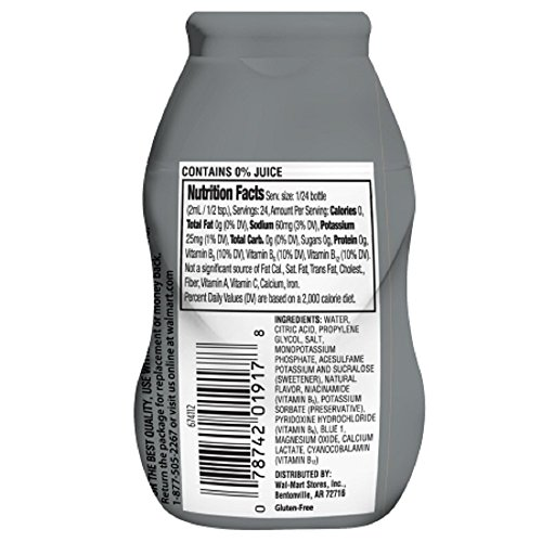 Amazon.com: Pack of 7 - Great Value Electrolyte Drink Enhancer, Blue Rasberry, 1.62 fl oz: Cell Phones & Accessories