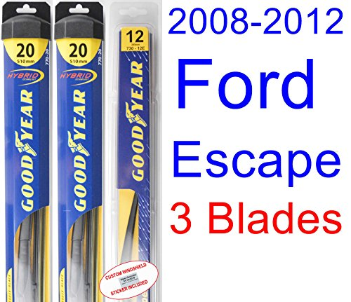 Driver 2008,2009,2010,2011,2012,2013 Goodyear Wiper Blades-Premium 2007-2014 Toyota FJ Cruiser Wiper Blade