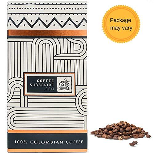 Gourmet Coffee Beans - 100% Colombian Medium Roast, Whole Bean, Balanced & Smooth, Arabica Variety, Single Origin, Specialty Mountain Coffee (1 lb/16 oz Coffee) Café Premium by Coffeesubscribe - MW ()