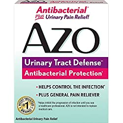 AZO Urinary Tract Defense – Antibacterial Protection∞ – Helps Control the Infection∞ – Plus General Pain Reliever – 24 Tablets