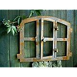 Antikas Stallfenster Eisenfenster Gartenmauer Fenster Roje medi Sprossenfenster